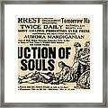 Auction Of Souls Framed Print