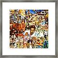 Audience With The Geniuses Of Art Framed Print