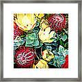 Australian Wild Flowers Framed Print