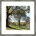 Autumn At Runnymede Uk Framed Print