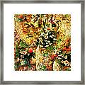 Autumn Bounty - Abstract Expressionism Framed Print