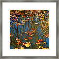 Autumn  Floating Framed Print by Peggy Franz