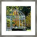 Autumn Gazebo Framed Print