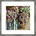 Autumn Hydrangeas Photoart Framed Print