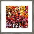 Autumn Is Too Hot Framed Print