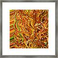 Autumn Leaves 5 - Abstract Photography - Manipulate Images Framed Print