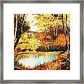 Changing Of The Season Framed Print