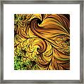 Autumn Returns Abstract Framed Print
