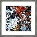 Autumn Snow Framed Print