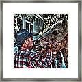 Awww Dixie Framed Print
