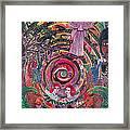 Aya Muyuywairu Tornado Espiritual Framed Print