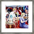 B05. The Drummer Framed Print