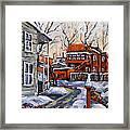 Back Lanes 02 Montreal By Prankearts Framed Print