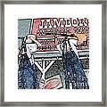 Backwards Bluegrass Framed Print