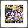 Backyard Garden IIi Framed Print