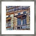 Bangkok Slum Housing Framed Print