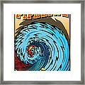 Banzai Pipeline Hawaii Surfing Framed Print by Larry Butterworth