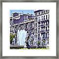 Barcelona Fountain Framed Print