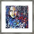 Barcelona Graffiti 1 Framed Print