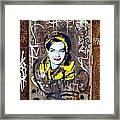Barcelona Graffiti 3 Framed Print