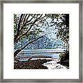 Barnes Creek At Lake Crescent - Washington Framed Print