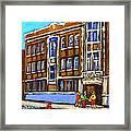 Baron Byng High School 4251 St. Urbain Street Plateau Montreal City  Scene Carole Spandau Montreal A Framed Print