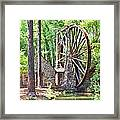 Berry College's Old Mill - Square Framed Print