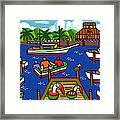 Battery Pier - Apalachicola Framed Print