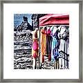 Beach Fashion Framed Print