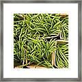 Beans Of Green Framed Print