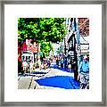 Bearskin Neck Rockport Ma Framed Print