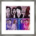 Rainbow Beatles Design Trio Framed Print
