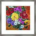 Beauties In Bloom Framed Print