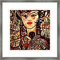 Beautiful Banafrit Framed Print