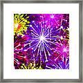 Beautiful Fireworks  6 Framed Print