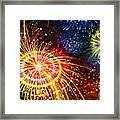 Beautiful Fireworks 8 Framed Print