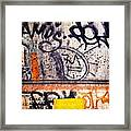 Beautiful Graffiti  Framed Print