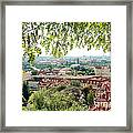 Beautiful View Of Prague Framed Print