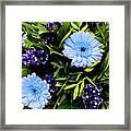 Beauty In The Garden Framed Print