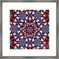 Beauty Of Aruba Kaleidoscope Framed Print