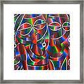 Beauty Of Women Framed Print