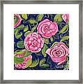 Bed Of Roses Framed Print