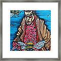 Bee Candy Framed Print