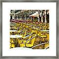 Before The Rush Framed Print by Cary Shapiro
