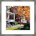 Before The Snow Falls Framed Print