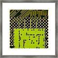 Behind The Processor Socket Framed Print