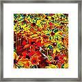 Bella Flora Painting Framed Print