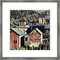 Belmont Town Framed Print
