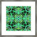 Bengal Tiger Abstract 20130205m180 Framed Print by Wingsdomain Art and Photography