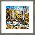 Better Re-think That Picnic Framed Print